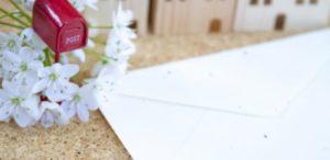 引っ越し挨拶で不在時の手紙文例