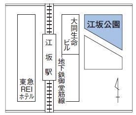 吹田まつり 江坂会場へのアクセス