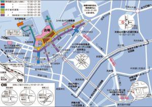 かごしま錦江湾サマーナイト大花火大会2019の交通規制