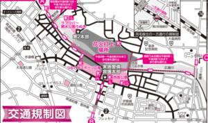 伊勢崎花火大会2019の交通規制区間・時間