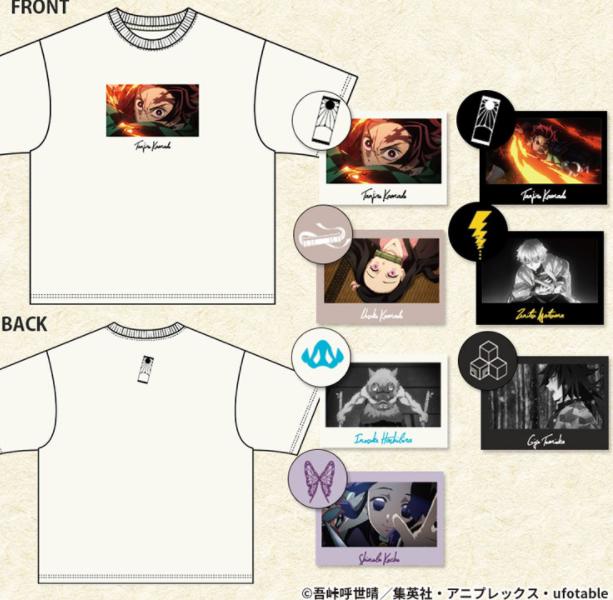 鬼滅の刃×ハニーズコラボ Tシャツ